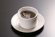 シイタケの煮込みスープ