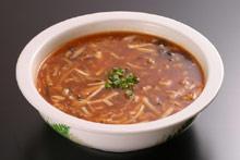 すっぱ辛いスープ