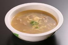 ザーサイ玉子スープ